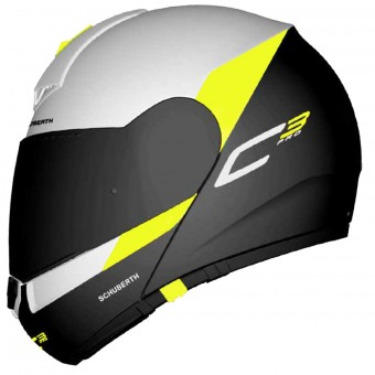 Casque Modular Schuberth C3 Pro Gravity Yellow
