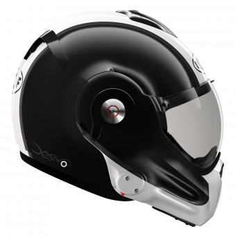 Casque Modular Roof Desmo Flash Black Pearl White 3e Generation