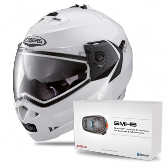 Casque Modular Caberg Duke White