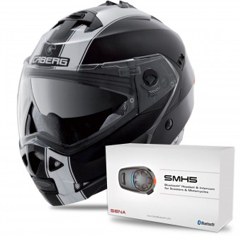 Casque Modular Caberg Duke II Legend Matt Black White
