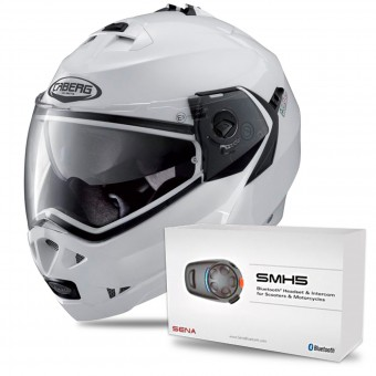 Casque Modular Caberg Duke II Metal White