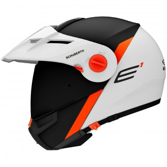 Casque Modular Schuberth E1 Gravity Orange