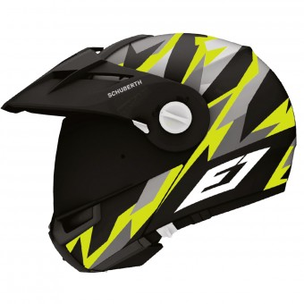 Casque Modular Schuberth E1 Rival Yellow