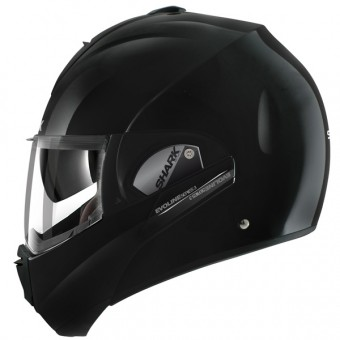 casco moto shark evoline serie 3 fusion blk en stock. Black Bedroom Furniture Sets. Home Design Ideas