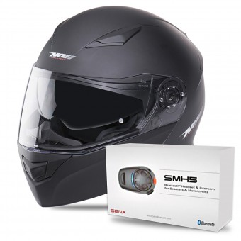 Casque Modular NOX N965 Matt Black