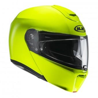 Casque Modular HJC RPHA 90 Fluo Green