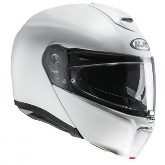 Casque Modular HJC RPHA 90 Semi Pearl White