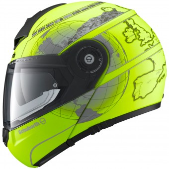 Casque Modular Schuberth C3 Pro Europe Yellow Fluo