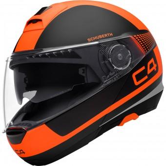 Casque Modular Schuberth C4 Legacy Orange
