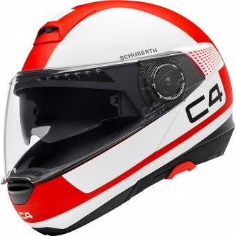 Casque Modular Schuberth C4 Legacy Red