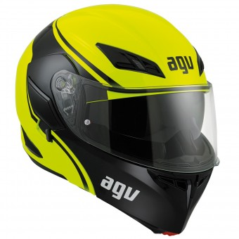 Casque Modular AGV Compact ST Course Yellow