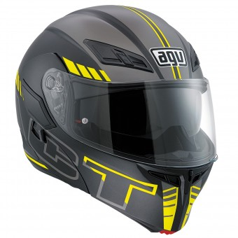 Casque Modular AGV Compact ST Seattle Matt Yellow Fluo