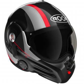 Casque Modular Roof Desmo Ram Black Red