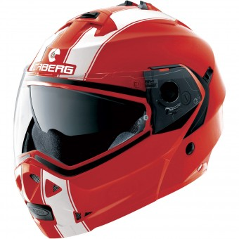 Casque Modular Caberg Duke II Legend Ducati Red White