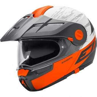 Casque Modular Schuberth E1 Crossfire Orange