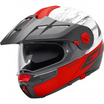 Casque Modular Schuberth E1 Crossfire Red