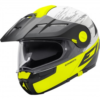 Casque Modular Schuberth E1 Crossfire Yellow