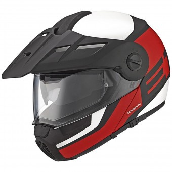 Casque Modular Schuberth E1 Guardian Red