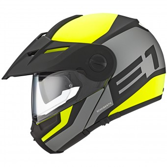 Casque Modular Schuberth E1 Guardian Yellow Fluo
