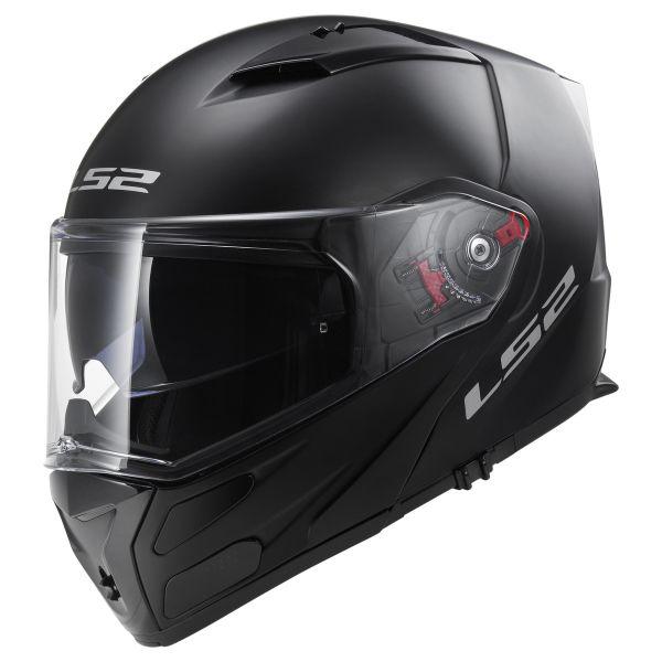 LS2 Casque moto FF324 METRO EVO MATT Noir P//J Noir S