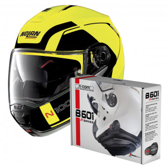 Casque Modular Nolan N100 5 Consistency N-Com Led Yellow 26