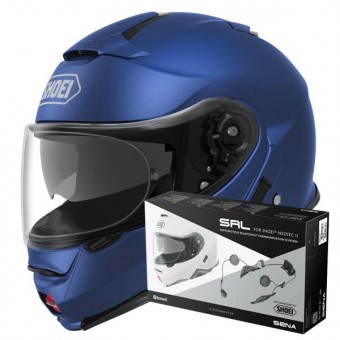 Casque Modular Shoei Neotec II Matt Blue Metal