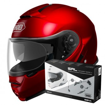 Casque Modular Shoei Neotec II Wine Red