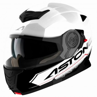 Casque Modular Astone RT 1200 Touring White Black