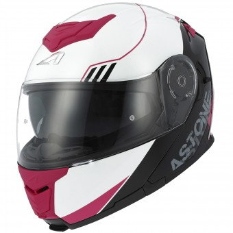 Casque Modular Astone RT 1200 Upline Pink Red