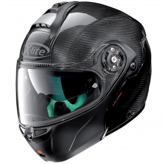Casque Modular X-lite X-1004 Ultra Carbon Dyad Black 1