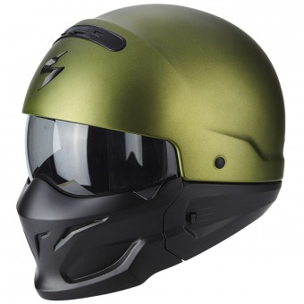 Casque Convertible Scorpion Exo Combat Matt Green