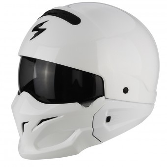 Casque Convertible Scorpion Exo Combat White