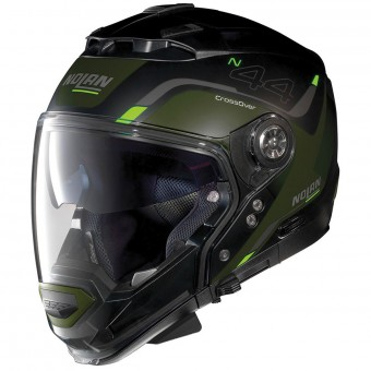 Casque Convertible Nolan N44 Evo Viewpoint N-Com Flat Black 47