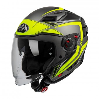 Casque Convertible Airoh Executive Line Amarillo Mate