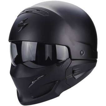 Casque Convertible Scorpion Exo Combat Matt Black