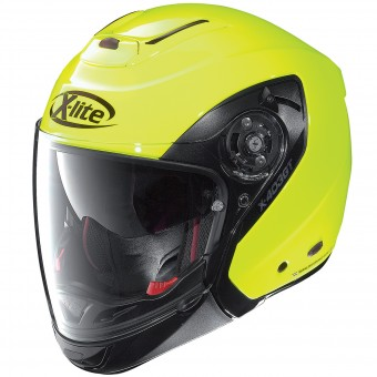 Casque Convertible X-lite X-403 GT Hi-Visibility Fluo Yellow 9