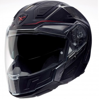 Casque Convertible Nexx X40 Carbon Hyperthech Negro