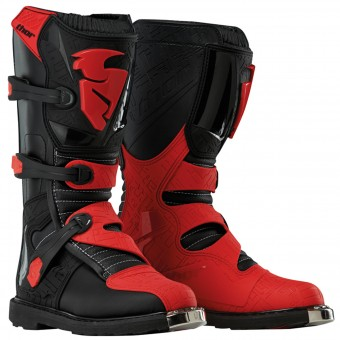 Botas Motocross Thor Blitz Black Red