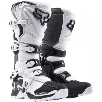 Botas Motocross FOX Comp 5 White (008)