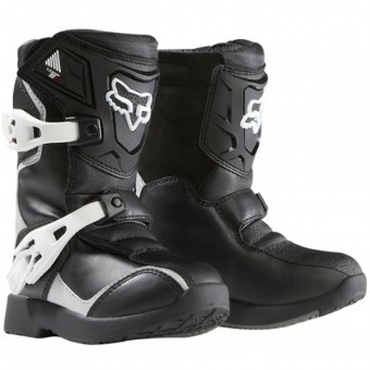 Botas Motocross FOX Comp 5K Black Silver (464)