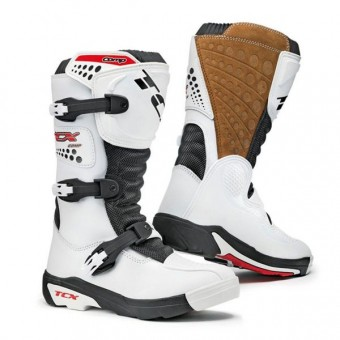 Botas Motocross TCX Comp Kid Blanco