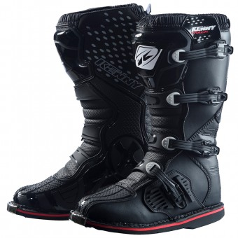 Botas Motocross Kenny Track Black Boots