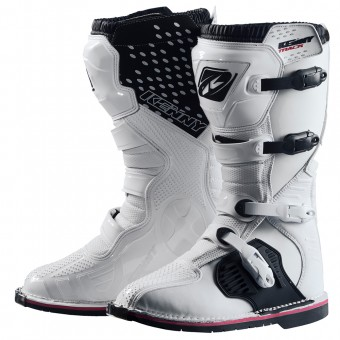 Botas Motocross Kenny Track White Boots