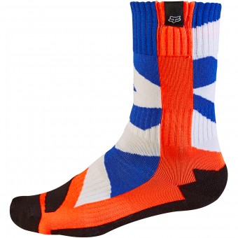 Calcetines Motocross FOX Creo Socks Orange Niño 009