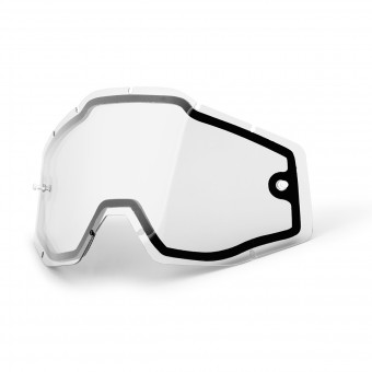 Pantalla Gafas Motocross 100% Pantalla Enduro Double Pantalla - Racecraft - Accuri - Strata