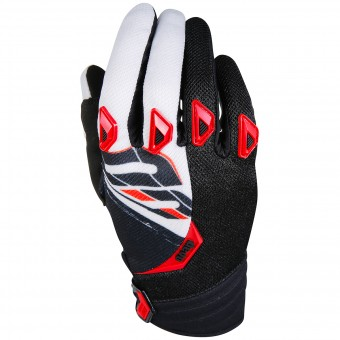 Guantes motocross SHOT Devo Fast Red Black Niño