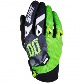 Guantes motocross SHOT Devo Squad Green Black