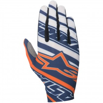 Guantes motocross Alpinestars Dune Navy Orange