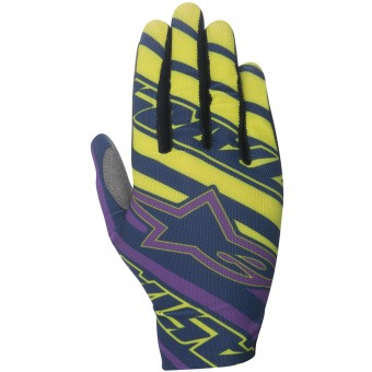 Guantes motocross Alpinestars Dune Navy Purple