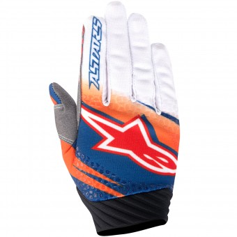 Guantes motocross Alpinestars Techstar Venom Orange